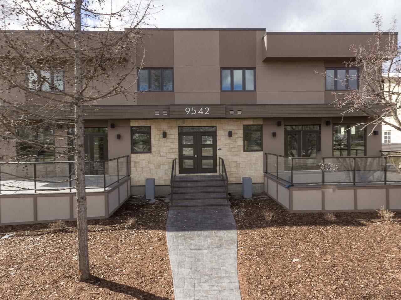 Main Photo: 2 9542 142 Street in Edmonton: Zone 10 Townhouse for sale : MLS® # E4058564