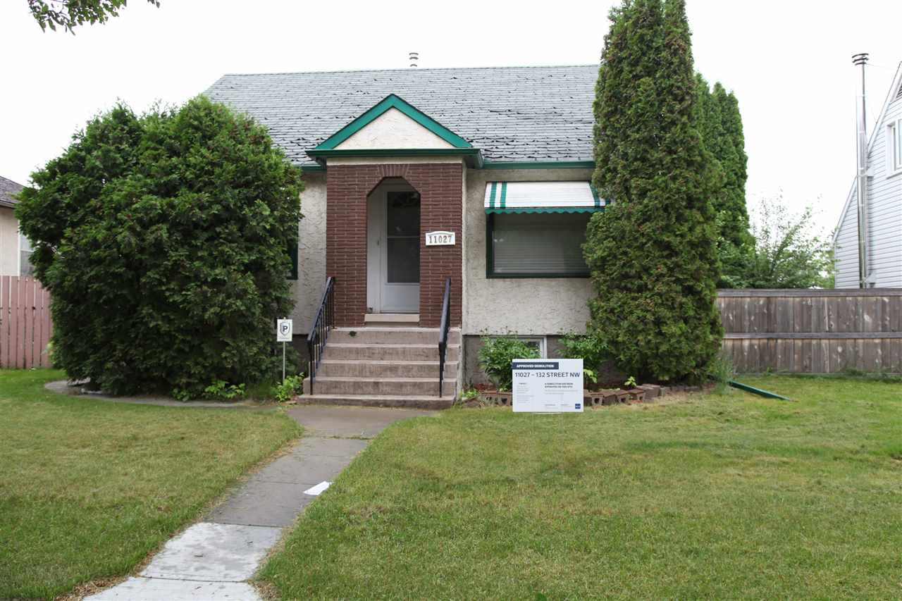 Main Photo: 11027 132 Street NW in Edmonton: Zone 07 Vacant Lot for sale : MLS(r) # E4069166