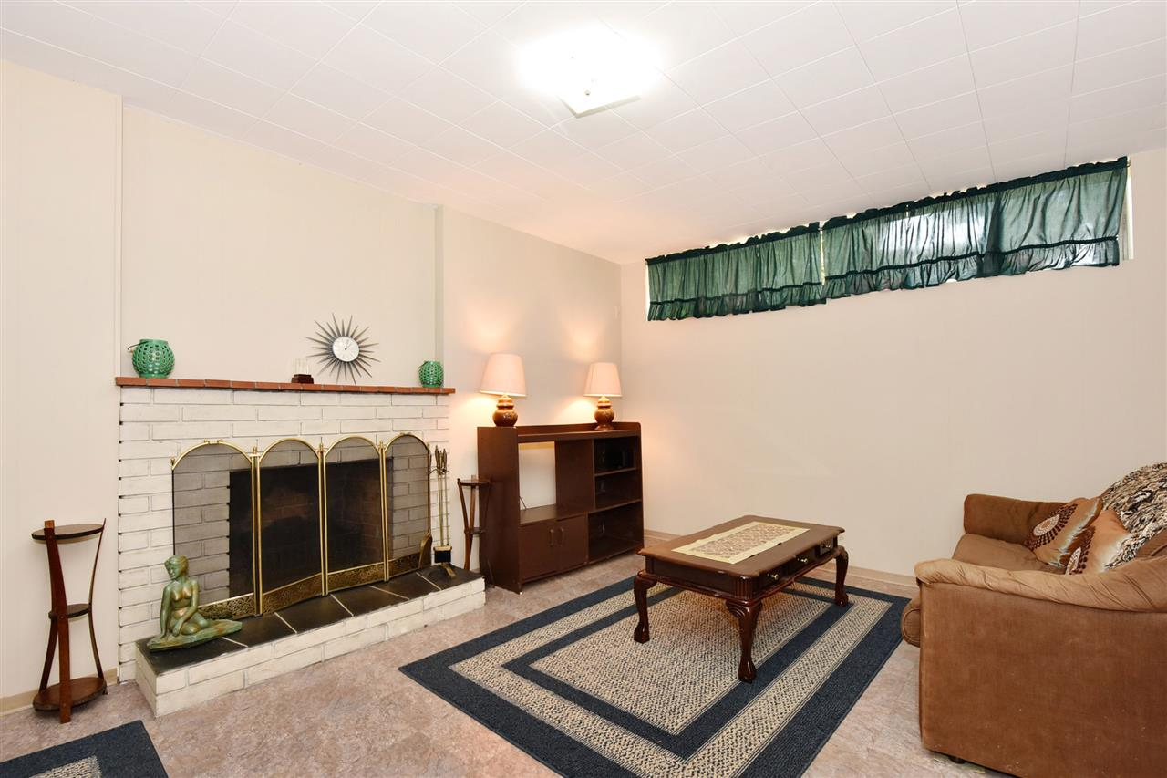 Large Recreation Room with wood-burning fireplace!