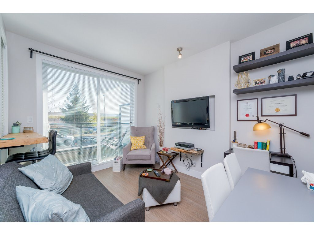 Main Photo: A107 20211 66 Avenue in Langley: Willoughby Heights Condo for sale : MLS® # R2206483