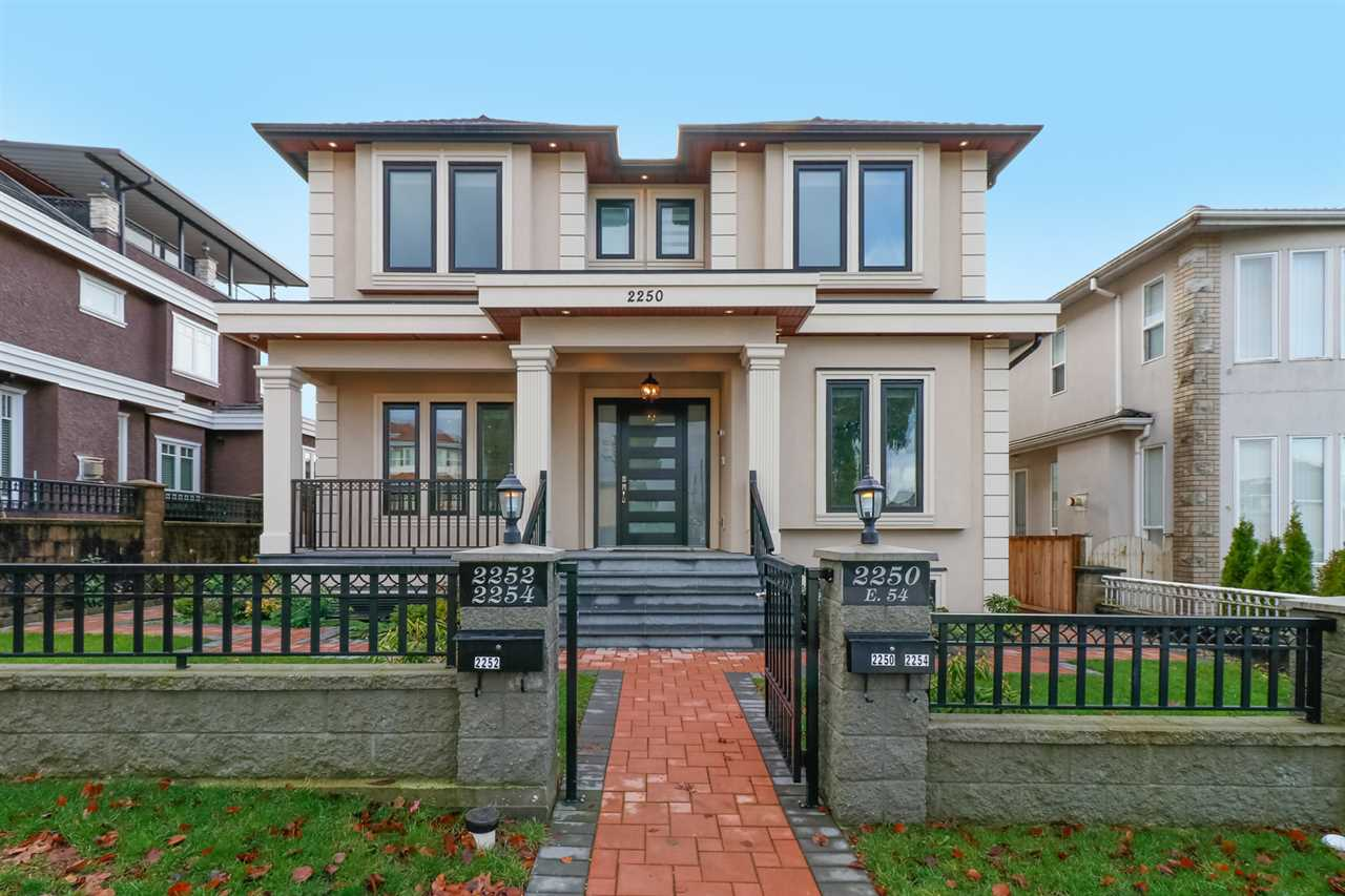 Main Photo: 2250 E 54TH Avenue in Vancouver: Fraserview VE House for sale (Vancouver East)  : MLS® # R2226009