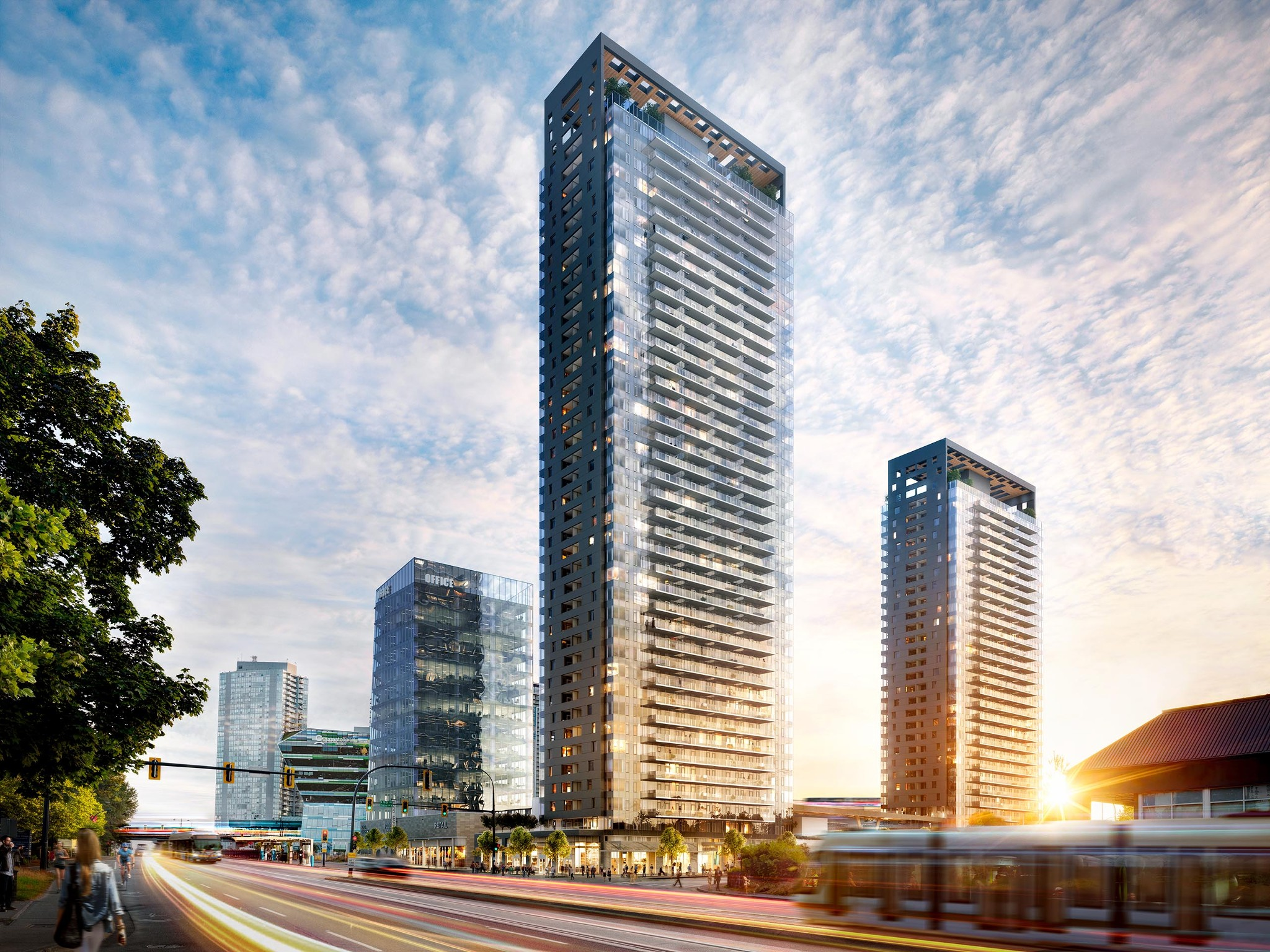Main Photo: #810 at KING GEORGE HUB by PCI in : Surrey City Centre Condo  (Surrey)