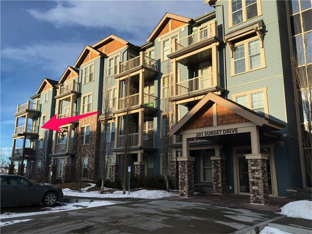 Main Photo: 301 201 SUNSET Drive: Cochrane Condo for sale : MLS® # C4046506