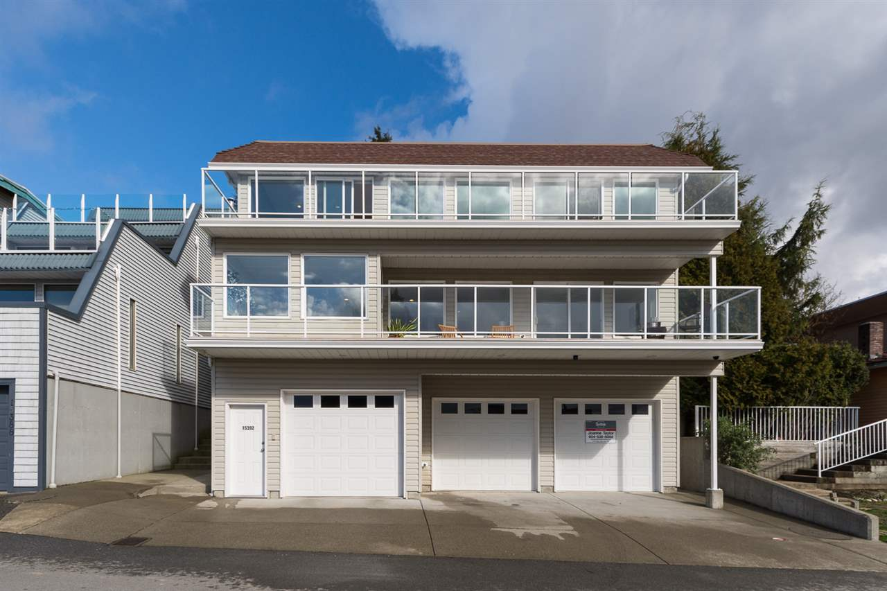 "Main Photo: 15392 COLUMBIA Avenue: White Rock House for sale in ""White Rock Hillside"" (South Surrey White Rock)  : MLS® # R2037114"
