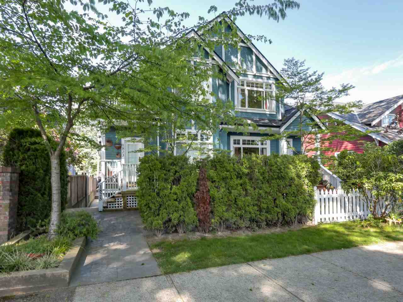 Main Photo: 1825 W 11TH Avenue in Vancouver: Kitsilano Townhouse for sale (Vancouver West)  : MLS(r) # R2061107