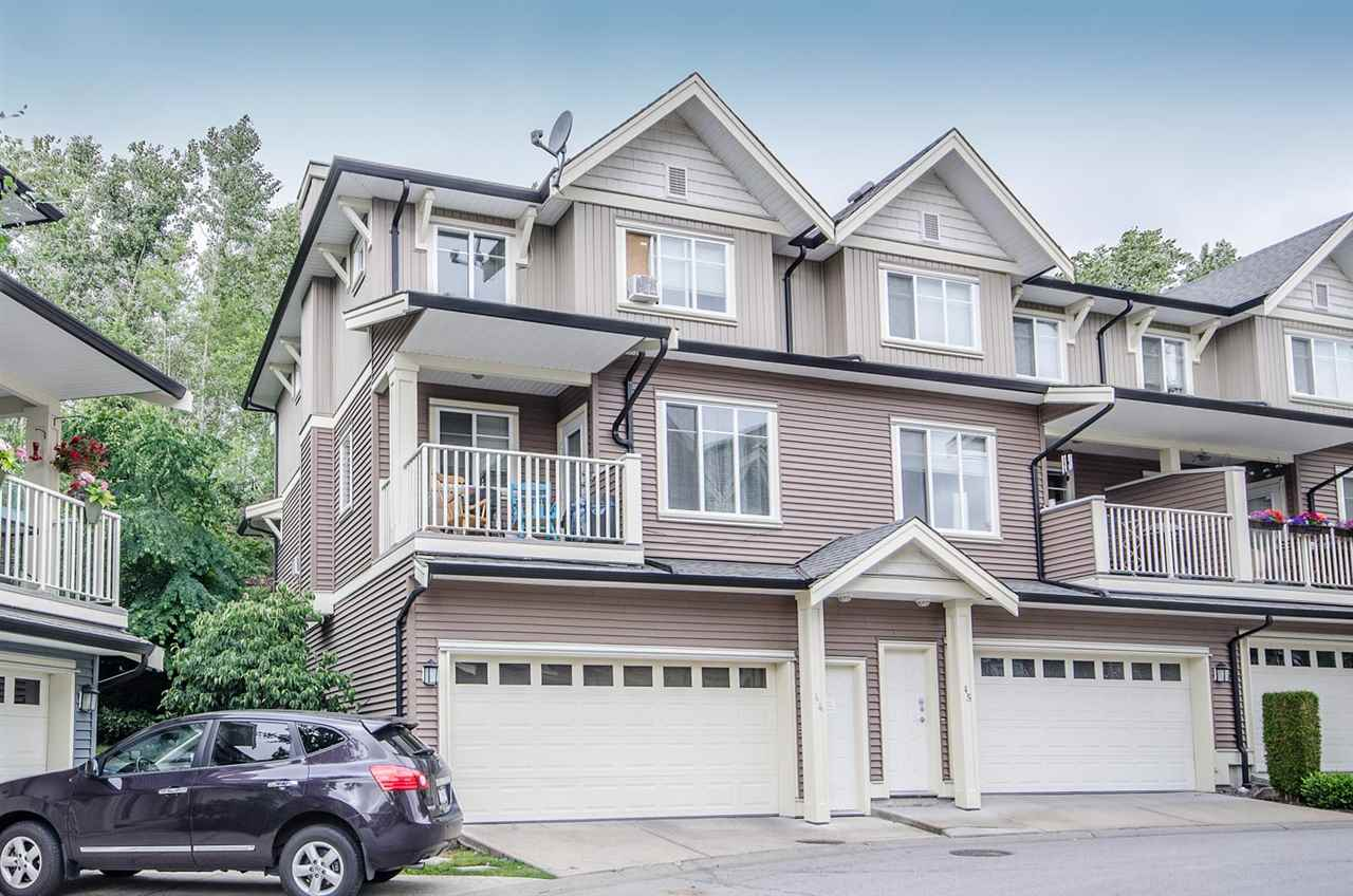 "Main Photo: 44 6575 192 Street in Surrey: Clayton Townhouse for sale in ""IXIA"" (Cloverdale)  : MLS(r) # R2080344"