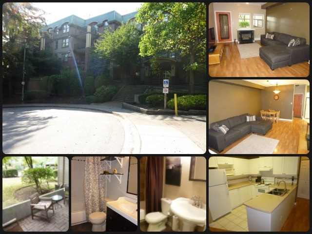 "Main Photo: 108 1591 BOOTH Avenue in Coquitlam: Maillardville Condo for sale in ""LE LAURENTIAN"" : MLS® # R2107508"