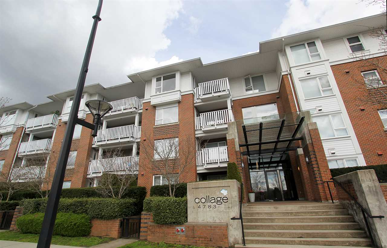 "Photo 1: 206 4783 DAWSON Street in Burnaby: Brentwood Park Condo for sale in ""COLLAGE"" (Burnaby North)  : MLS® # R2156648"