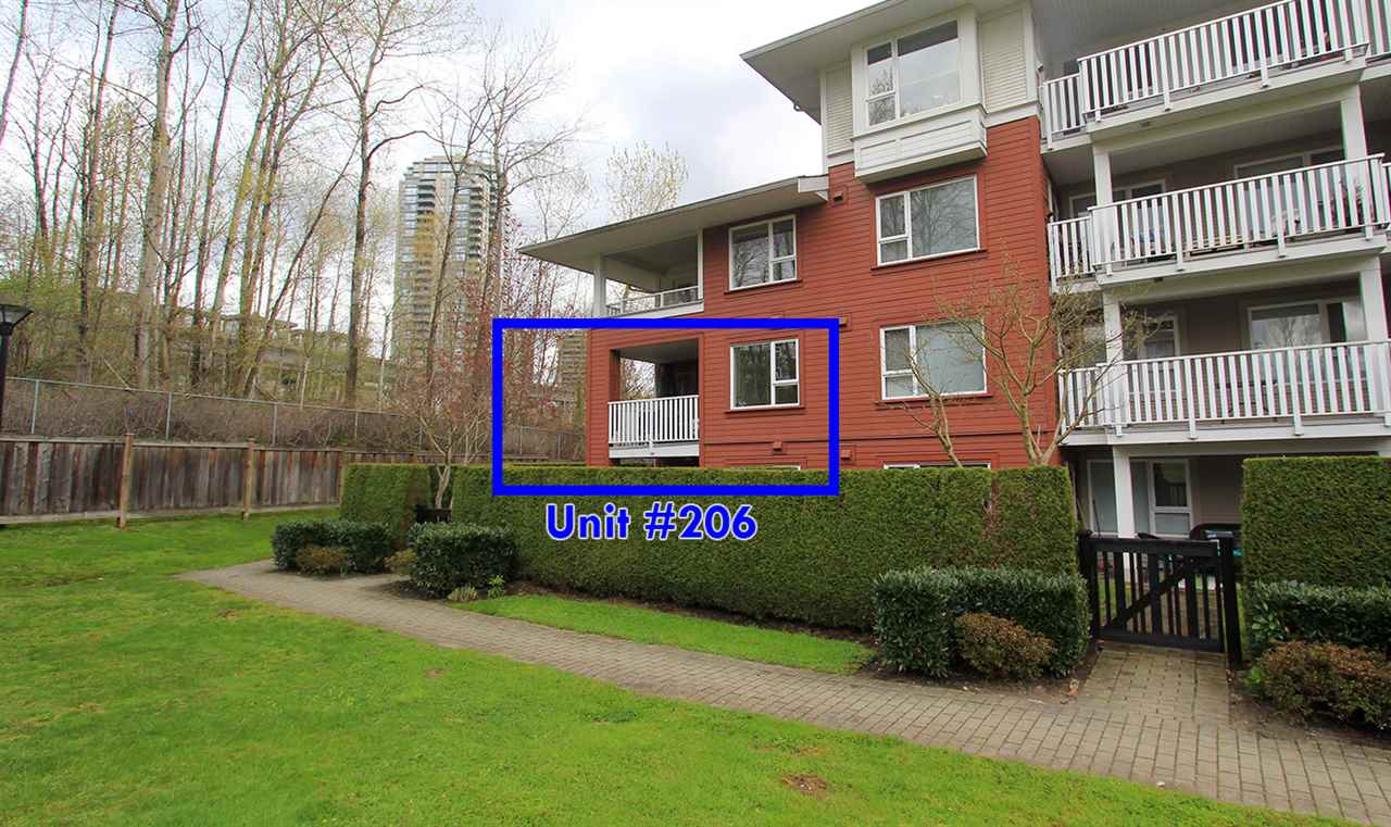 "Photo 17: 206 4783 DAWSON Street in Burnaby: Brentwood Park Condo for sale in ""COLLAGE"" (Burnaby North)  : MLS® # R2156648"