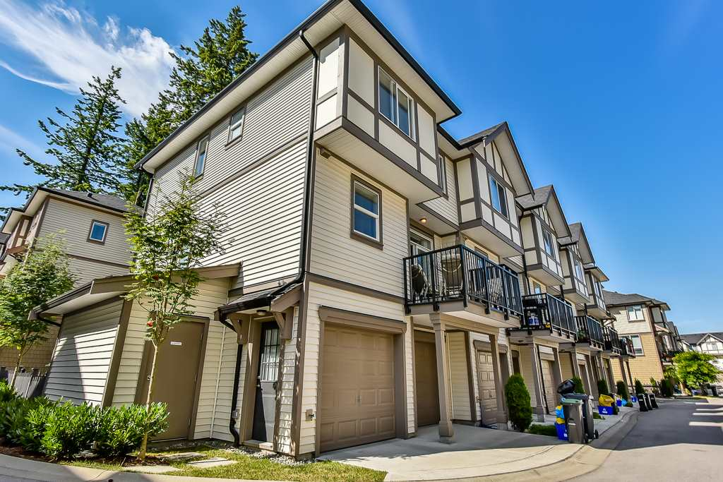 "Main Photo: 56 7848 209 Street in Langley: Willoughby Heights Townhouse for sale in ""Mason & Green"" : MLS® # R2191494"