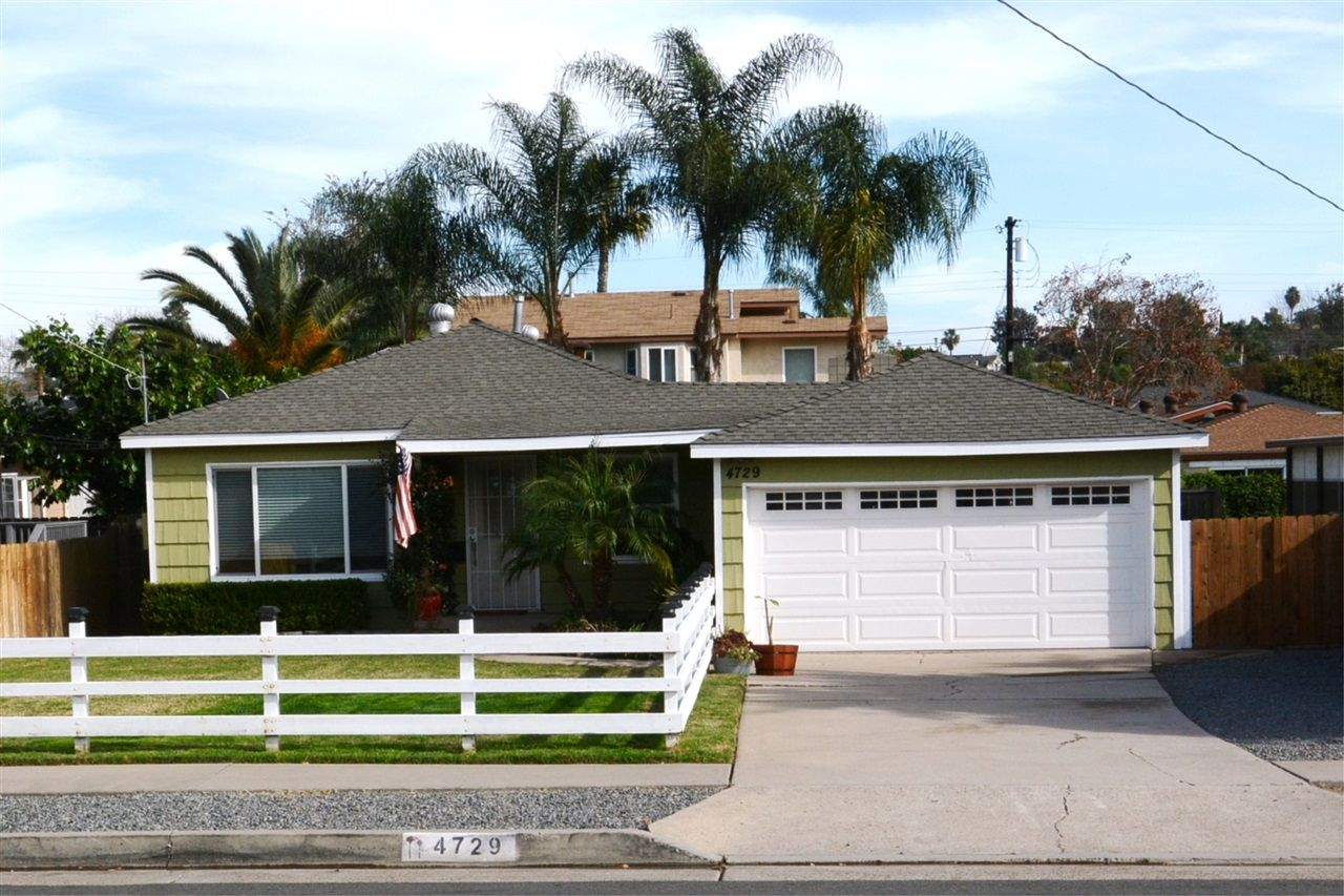 "Colony Way... an ""Old La Mesa"" Westside neighborhood that is close to everything... and here is a Treasure.  Large Flat Useable yard, Large Two Car Garage, Bonus Room/Optional 3rd bedroom and Off Street 6 car or RV Parking."