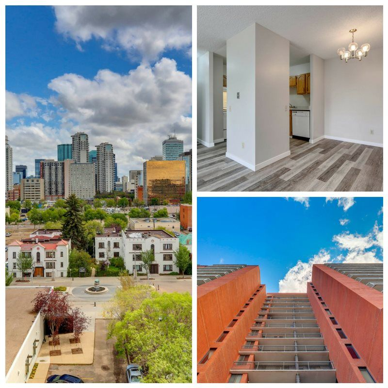 Main Photo: 803 10125 109 Street Street in Edmonton: Zone 12 Condo for sale : MLS®# E4122891