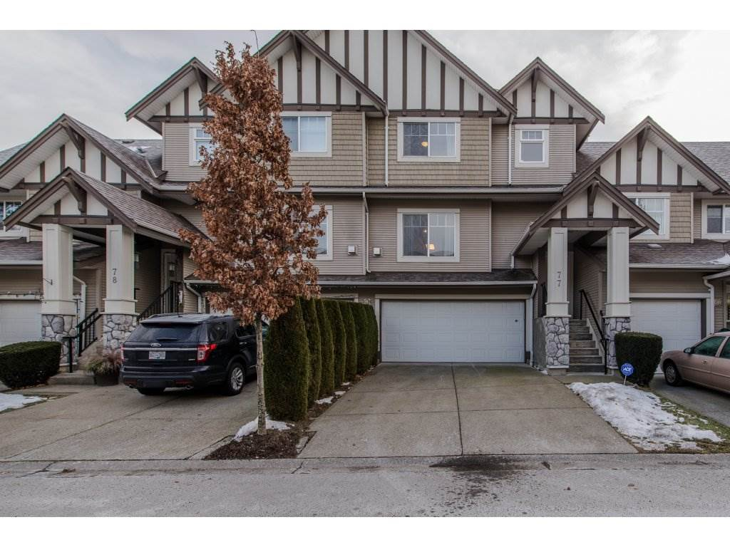"Main Photo: 77 18221 68 Avenue in Surrey: Cloverdale BC Townhouse for sale in ""MAGNOLIA"" (Cloverdale)  : MLS(r) # R2131692"