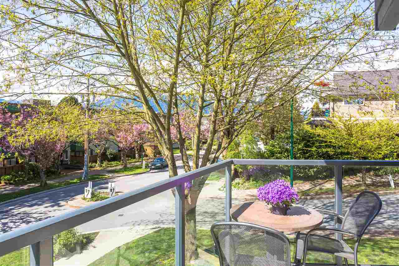 "Photo 15: 2110 ETON Street in Vancouver: Hastings Townhouse for sale in ""ETON CREST"" (Vancouver East)  : MLS® # R2161026"