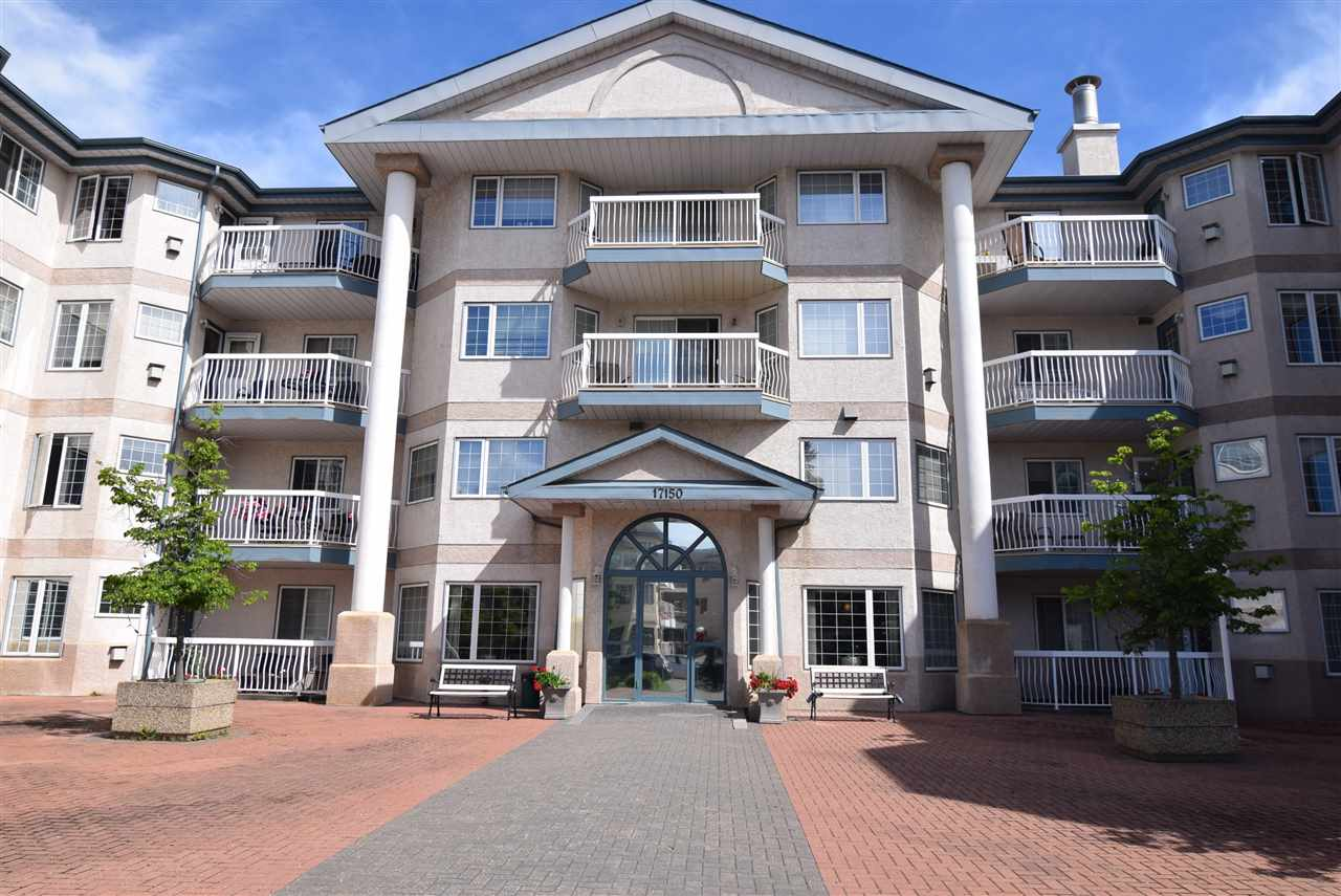 Main Photo: 403 17150 94A Avenue NW in Edmonton: Zone 20 Condo for sale : MLS(r) # E4067609