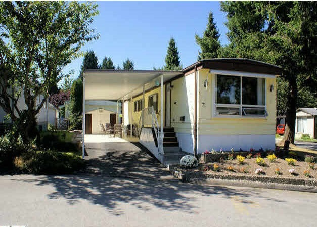 "Main Photo: 71 7790 KING GEORGE Boulevard in Surrey: East Newton Manufactured Home for sale in ""Crispen Bays"" : MLS®# R2182761"