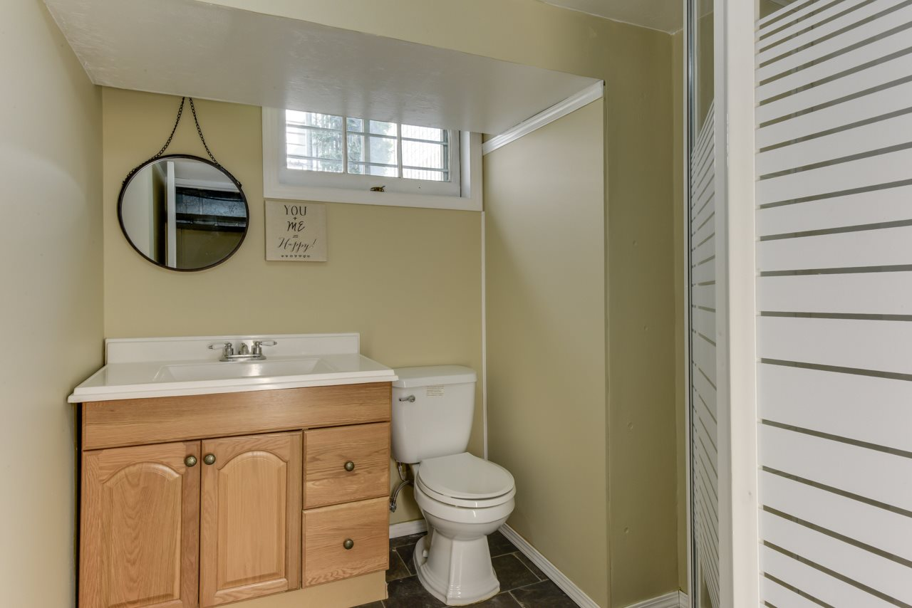 Full 3 piece basement bathroom