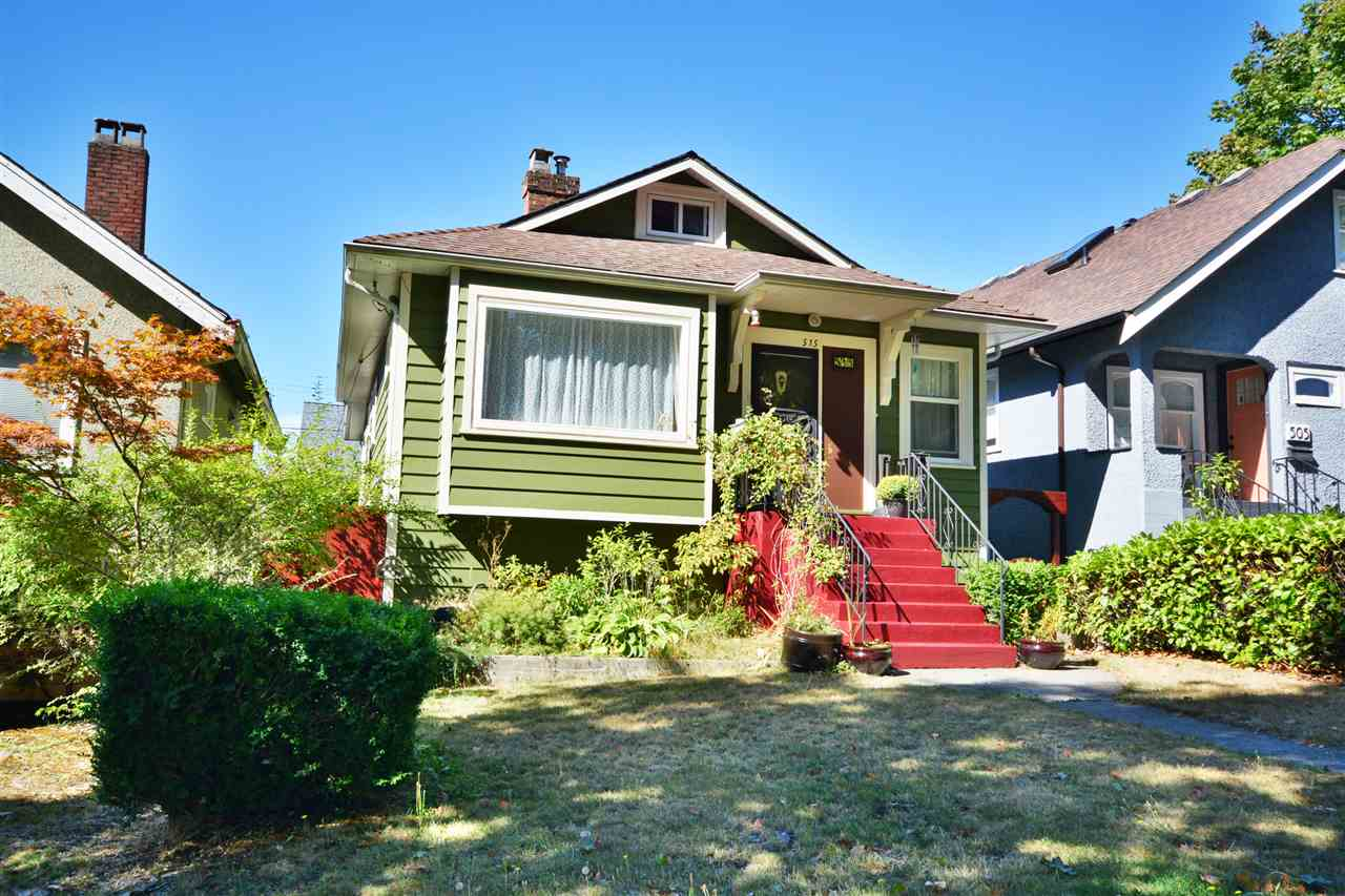 Main Photo: 515 SKEENA Street in Vancouver: Renfrew VE House for sale (Vancouver East)  : MLS® # R2205216