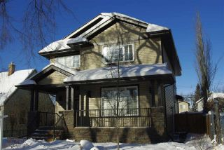 Main Photo: 9518 72 Avenue NW in Edmonton: Zone 17 House for sale : MLS® # E4095586
