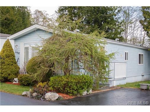 Photo 16: SAANICHTON MOBILE HOME = SAANICHTON REAL ESTATE Sold With Ann Watley! Call (250) 656-0131