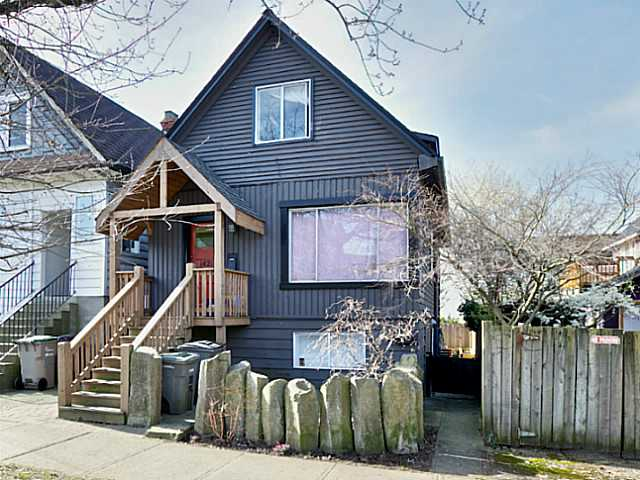Main Photo: 1421 COTTON Drive in Vancouver: Grandview VE House for sale (Vancouver East)  : MLS® # V1109683