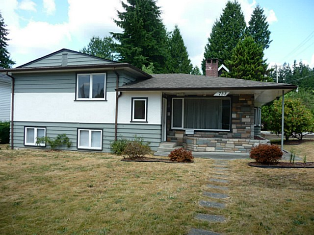 "Main Photo: 733 ACCACIA Avenue in Coquitlam: Coquitlam West House for sale in ""COQUITLAM WEST"" : MLS® # V1134788"
