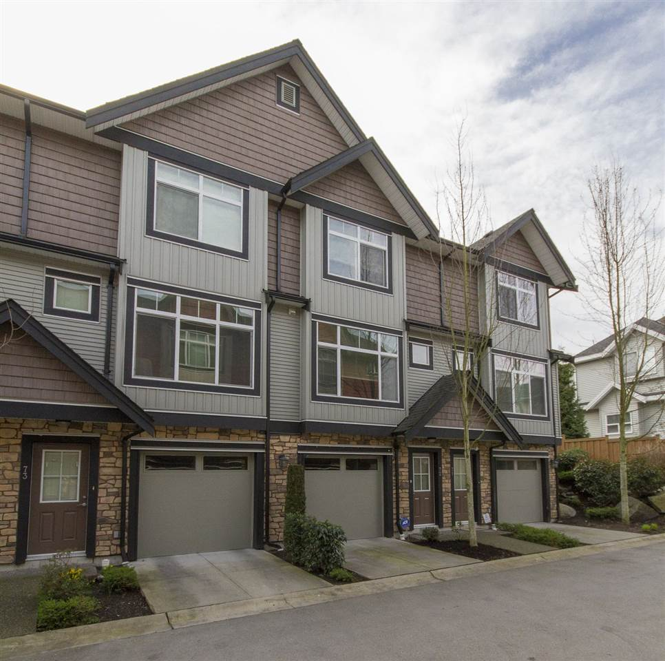 "Main Photo: 72 6299 144 Street in Surrey: Sullivan Station Townhouse for sale in ""Altura"" : MLS(r) # R2040563"