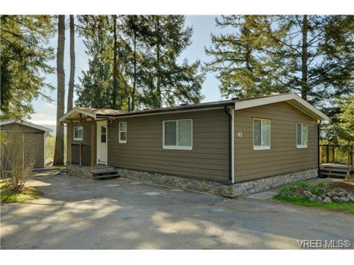 Main Photo: 43 5838 Blythwood Road in SOOKE: Sk Saseenos Manu Double-Wide for sale (Sooke)  : MLS® # 363295