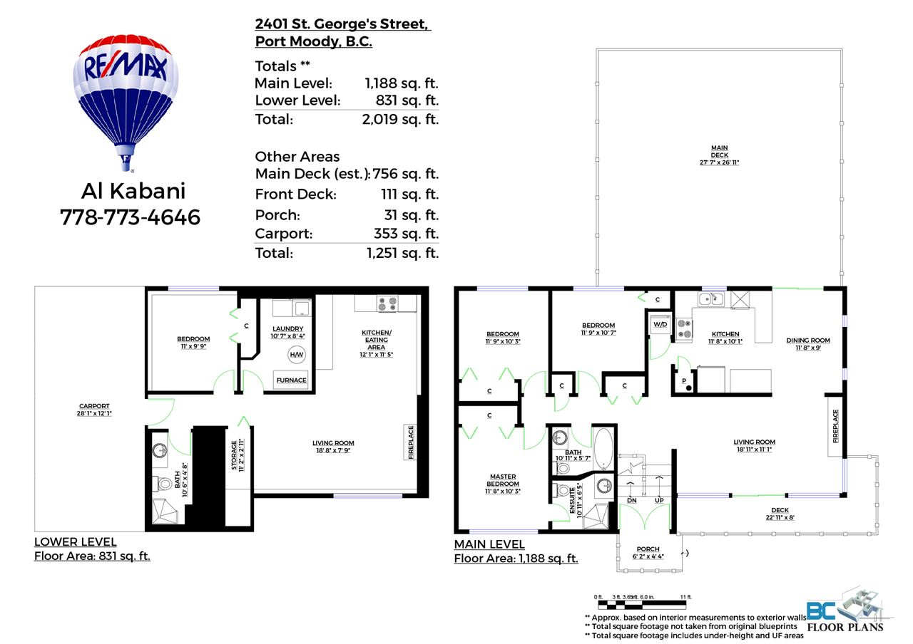 Photo 11: 2401 ST GEORGE Street in Port Moody: Port Moody Centre House for sale : MLS® # R2062434