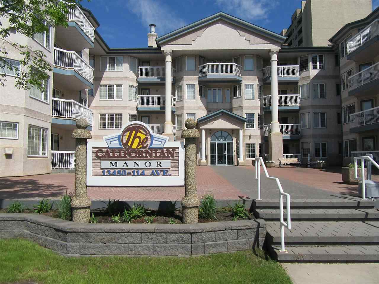 Main Photo: 209 13450 114 Avenue NW in Edmonton: Zone 07 Condo for sale : MLS(r) # E4020163
