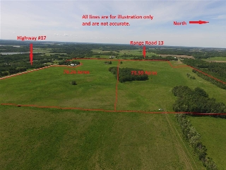 Main Photo: Range Road 13 Highway #37: Rural Lac Ste. Anne County Rural Land/Vacant Lot for sale : MLS(r) # E4055398
