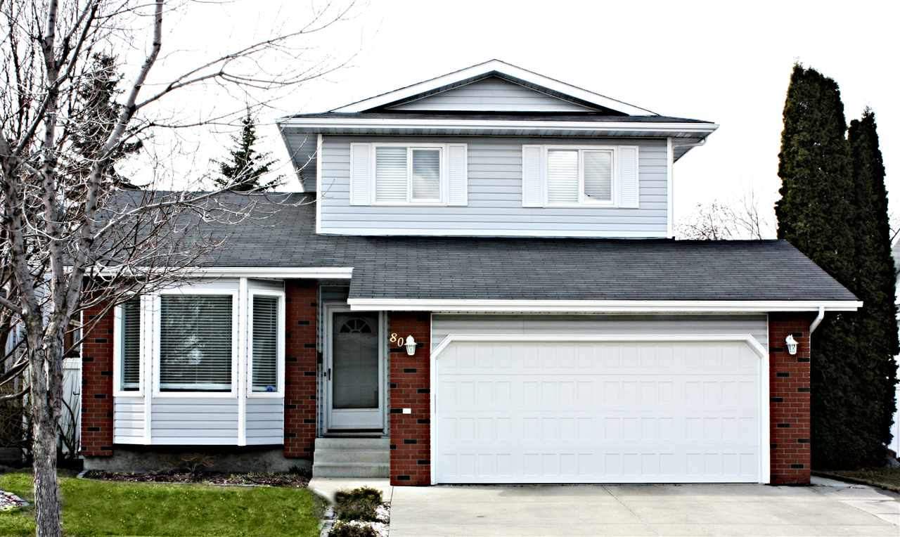 Main Photo: 80 Coachman Way: Sherwood Park House for sale : MLS(r) # E4062197