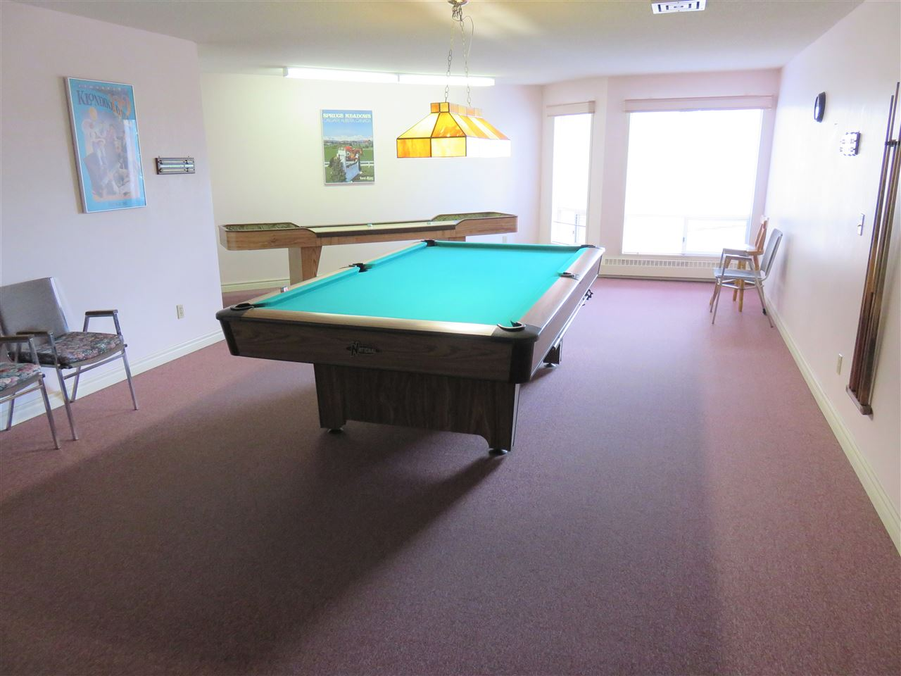 View of the 2nd Floor Games Room w/a Full size Pool Table & Shuffle Board! :)