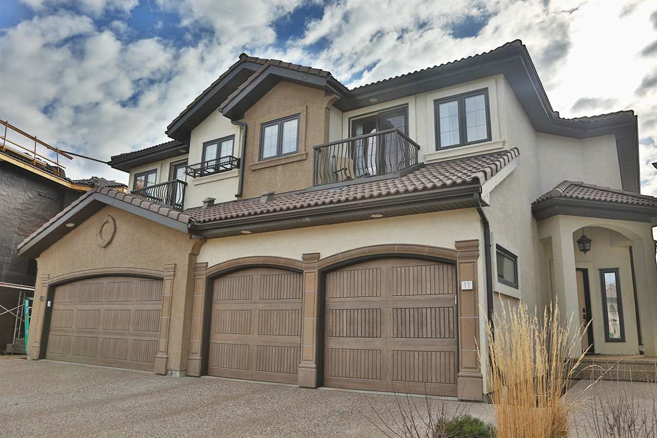 Main Photo: 13 1030 Connelly Way in Edmonton: Zone 55 House Half Duplex for sale : MLS® # E4065759