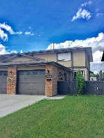 Main Photo: 2718 136A Avenue in Edmonton: Zone 35 House Half Duplex for sale : MLS® # E4069515