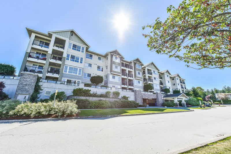 "Main Photo: 420 19673 MEADOW GARDENS Way in Pitt Meadows: North Meadows PI Condo for sale in ""THE FAIRWAYS"" : MLS(r) # R2181386"