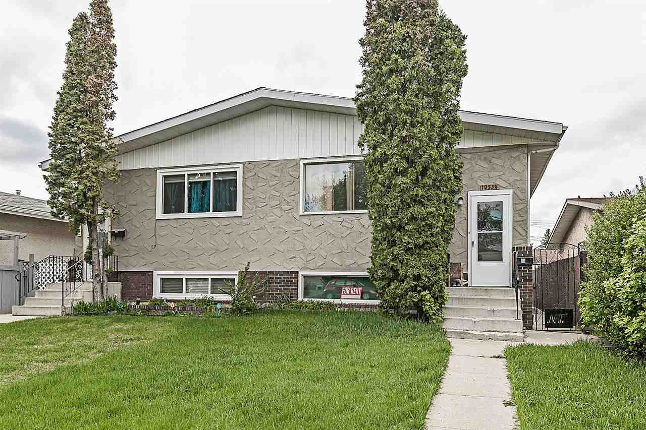 Main Photo: 10534 151 Street in Edmonton: Zone 21 House Half Duplex for sale : MLS® # E4074859