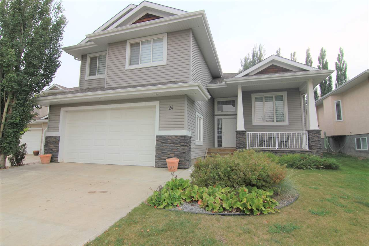 Main Photo: 24 Overton Place: St. Albert House for sale : MLS® # E4081126