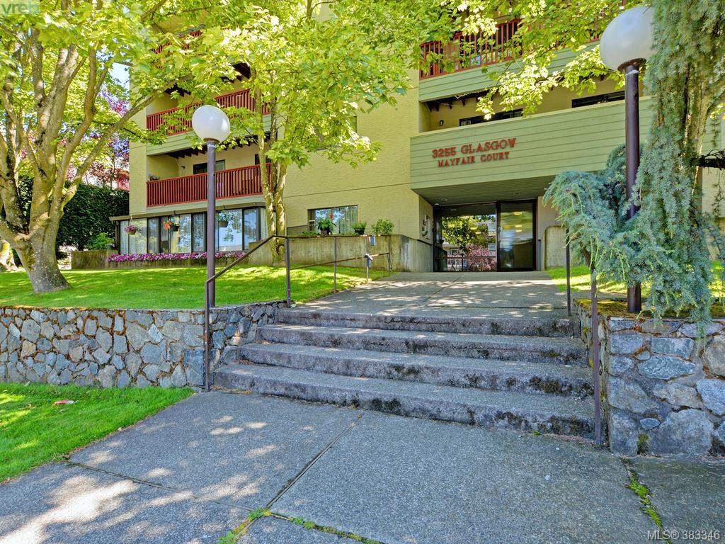 Main Photo: 320 3255 Glasgow Avenue in VICTORIA: SE Quadra Condo Apartment for sale (Saanich East)  : MLS® # 383346