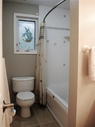 Main floor bathroom - 4 piece