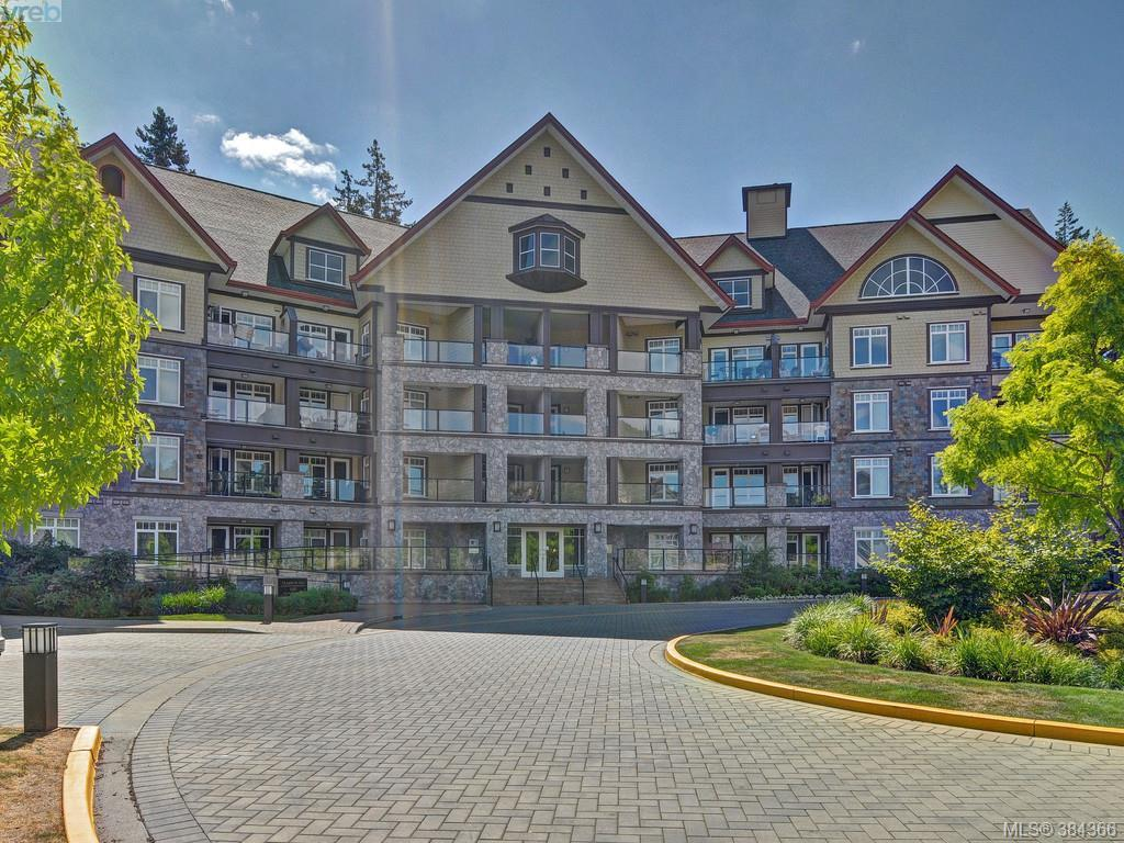 Main Photo: 317 1395 Bear Mountain Parkway in VICTORIA: La Bear Mountain Condo Apartment for sale (Langford)  : MLS® # 384366