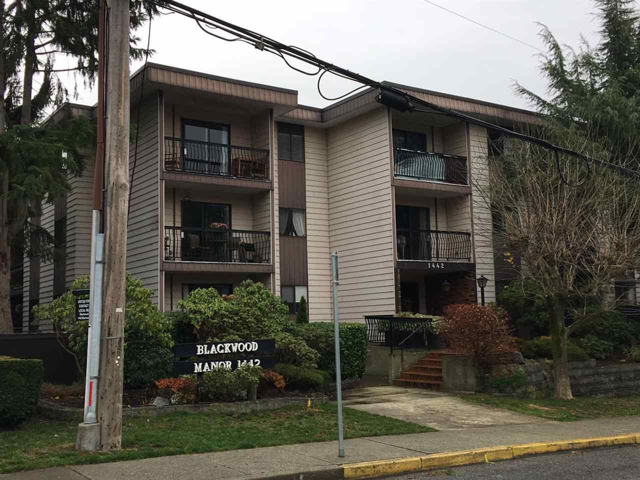 Photo 1: Photos: 215 1442 BLACKWOOD Street: White Rock Condo for sale (South Surrey White Rock)  : MLS® # R2223808