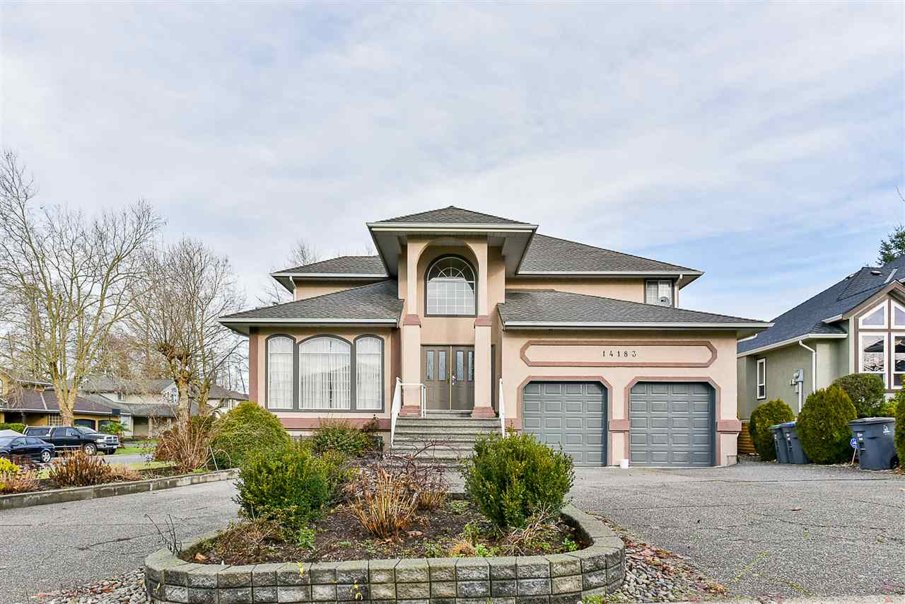 "Main Photo: 14183 86 Avenue in Surrey: Bear Creek Green Timbers House for sale in ""BROOKSIDE"" : MLS® # R2232193"