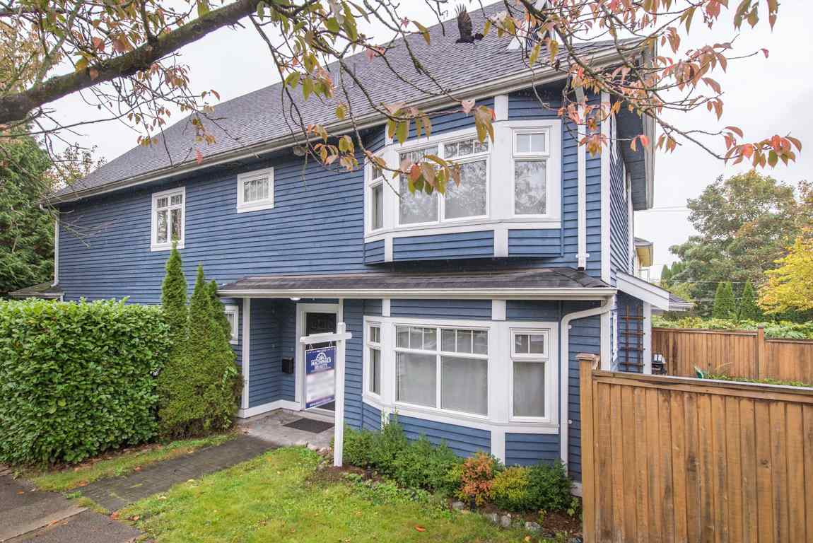 Main Photo: 2608 ST. CATHERINES Street in Vancouver: Mount Pleasant VE House 1/2 Duplex for sale (Vancouver East)  : MLS® # R2009853