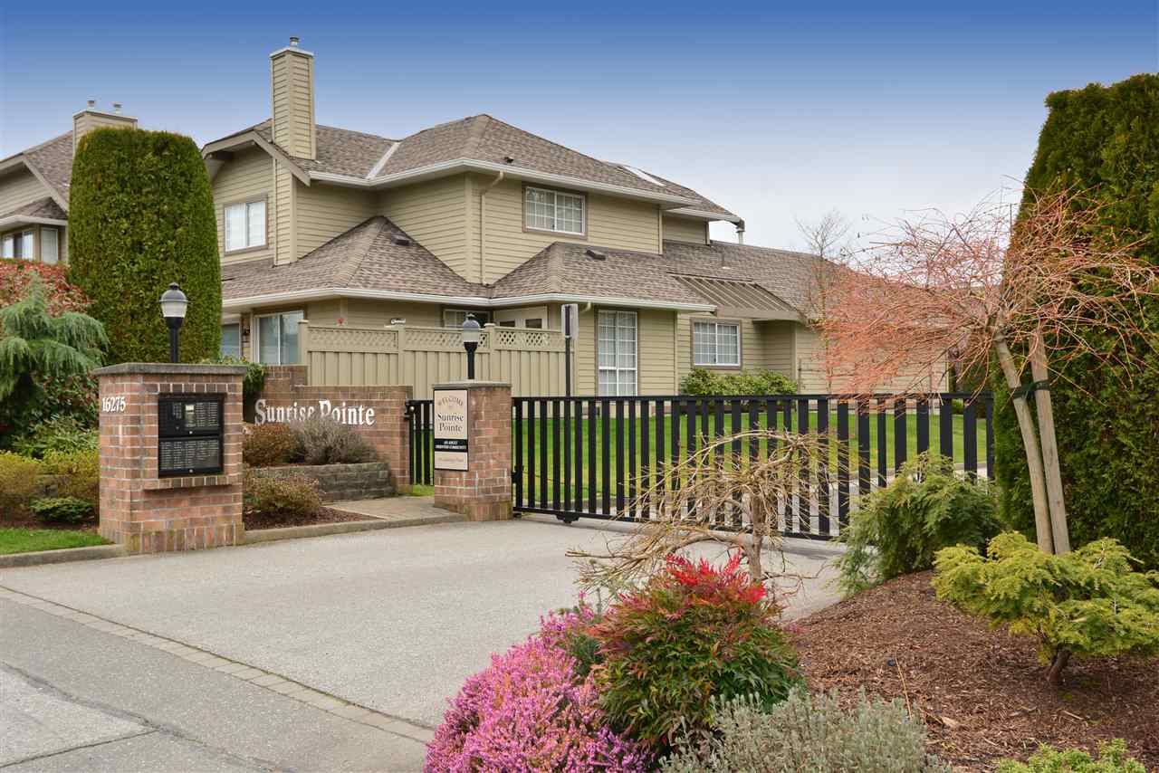 "Main Photo: 164 16275 15 Avenue in Surrey: King George Corridor Townhouse for sale in ""Sunrise Pointe"" (South Surrey White Rock)  : MLS® # R2039235"