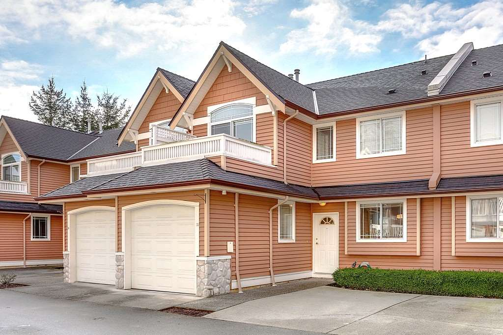 "Main Photo: 35 1506 EAGLE MOUNTAIN Drive in Coquitlam: Westwood Plateau Townhouse for sale in ""RIVER ROCK BEND"" : MLS® # R2133561"