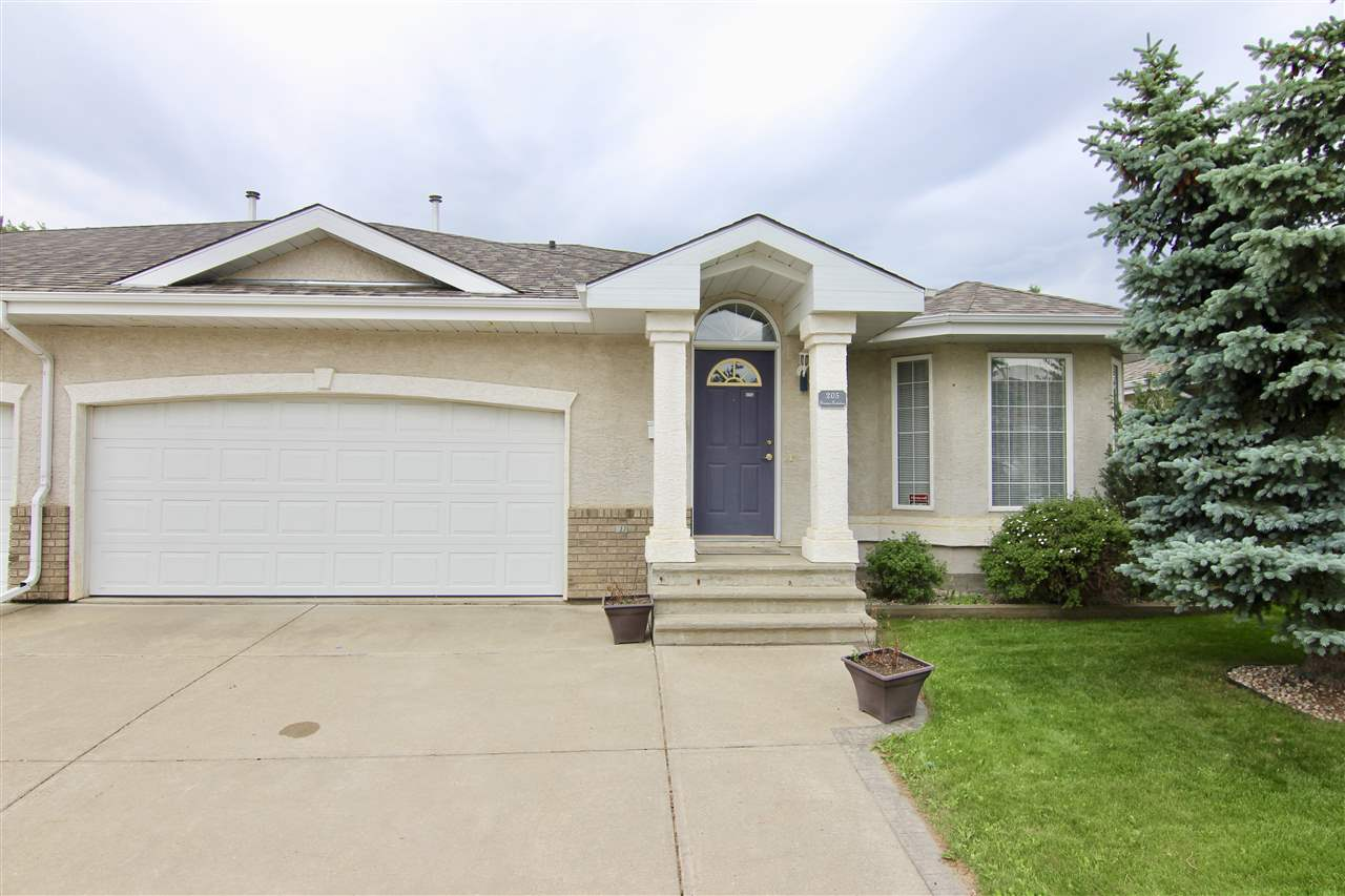 Main Photo: 205 YOUVILLE Drive E in Edmonton: Zone 29 House Half Duplex for sale : MLS(r) # E4049170