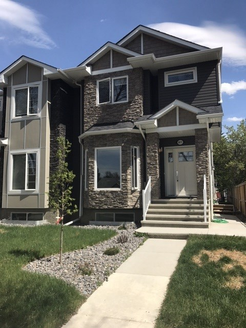 Main Photo: 8835 90 Street in Edmonton: Zone 18 House Half Duplex for sale : MLS(r) # E4066365