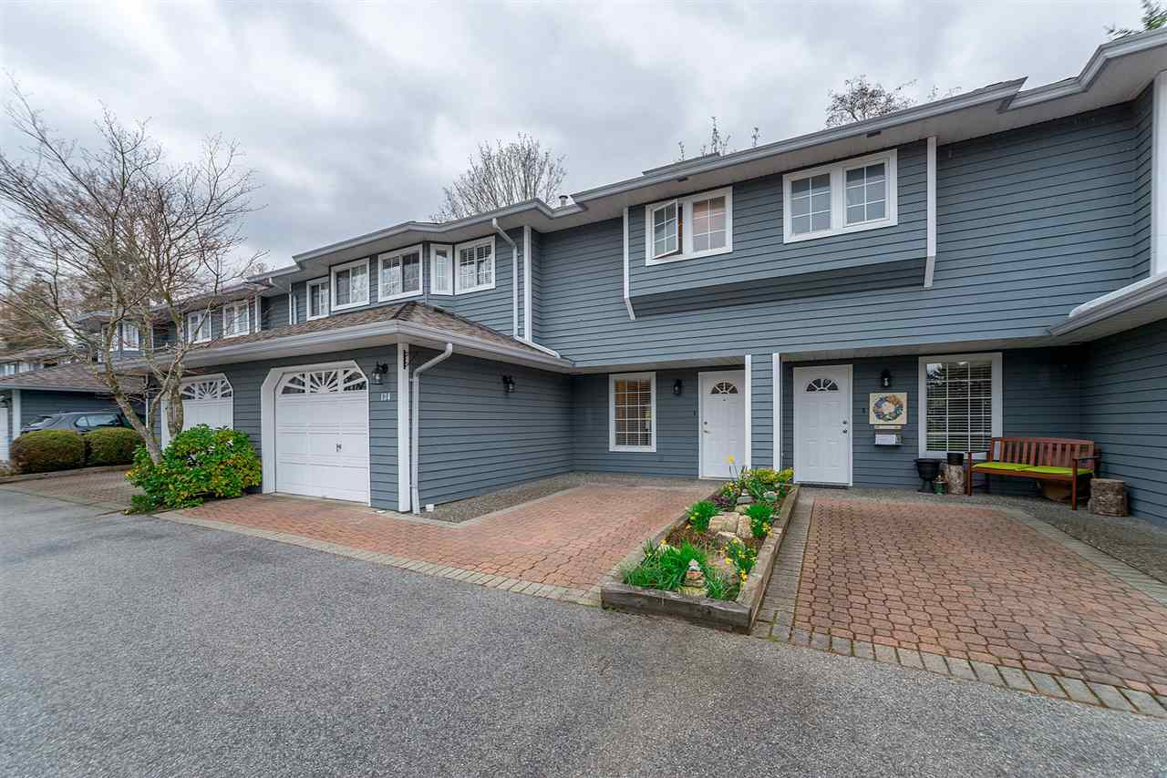 "Main Photo: 134 16335 14 Avenue in Surrey: King George Corridor Townhouse for sale in ""PEBBLE CREEK ESTATES"" (South Surrey White Rock)  : MLS®# R2260570"