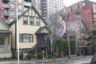 Main Photo: 439 Helmcken Street in Vancouver: Yaletown Home for sale (Vancouver West)  : MLS® # F3200611